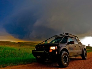 As storm season approaches, Viper Tours (www.vipertours.com) gears up to give thrill seekers a taste of tornado alley and the raw power of nature. With a team of experts at the ready, Viper Tours is the definitive name in private storm chasing, putting clients at the center of dramatic and intense weather systems. (PRNewsFoto/Viper Tours)